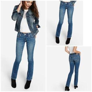 Express ReRock Jeans • Thick Stitch Skinny Jeans